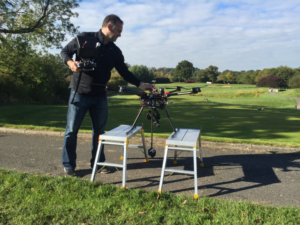 aerial drone 360 video capture uk - Chester - Liverpool - Manchester - London