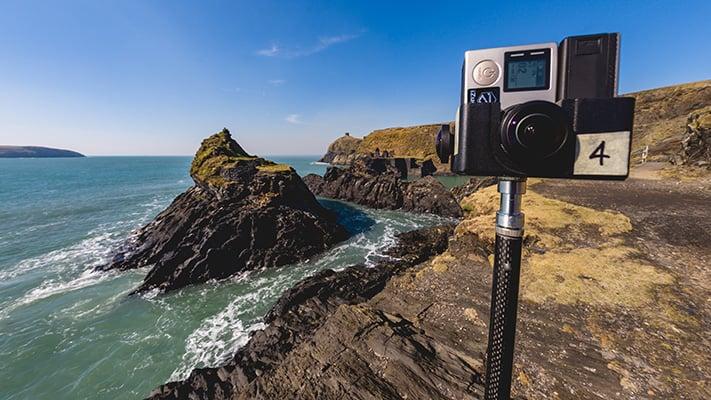 izugar 360 degree video lens
