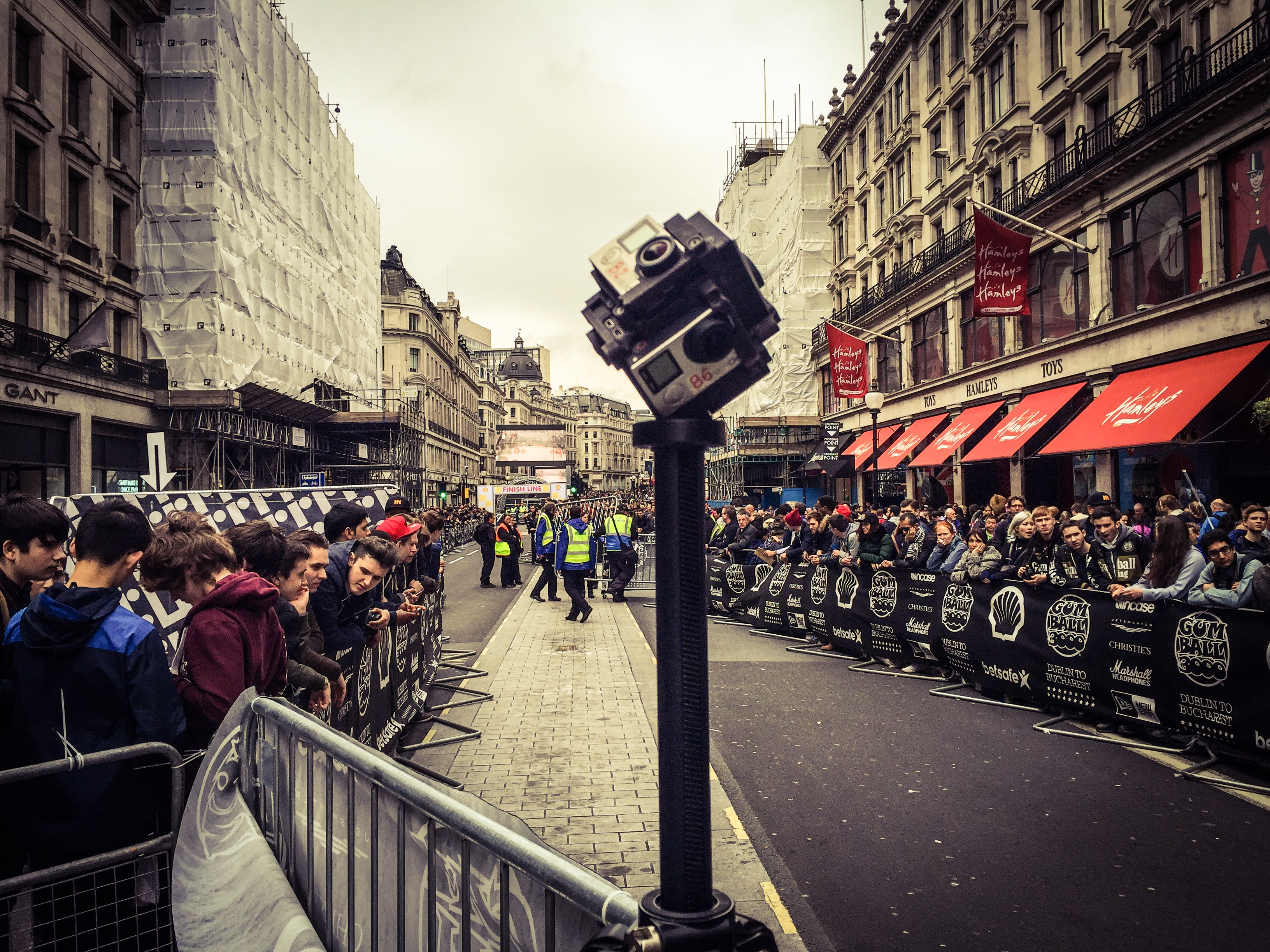 360 video Capture Gumball London
