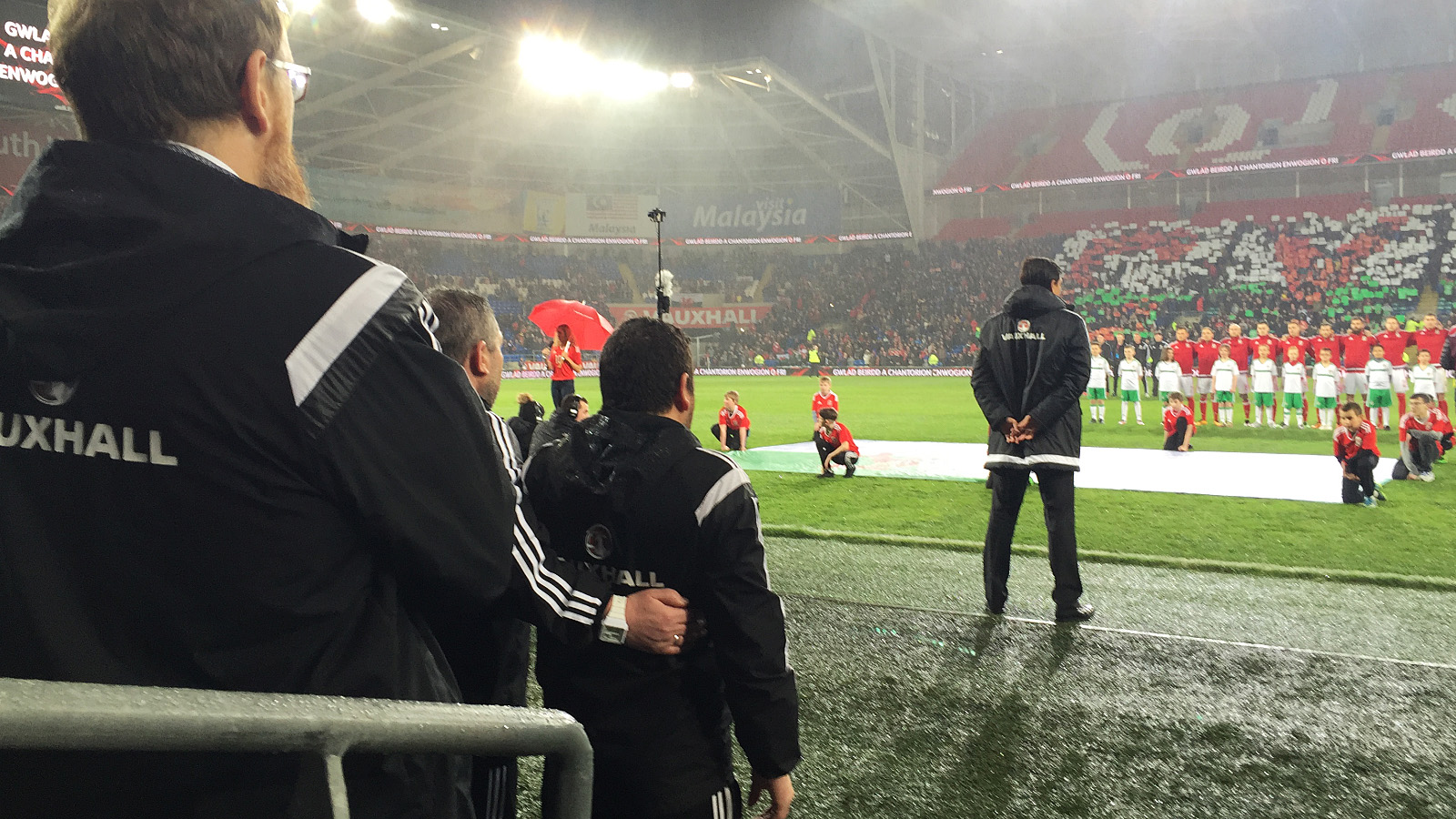 Wales vs Northern Ireland 360 Video captured at Cardiff City Stadium