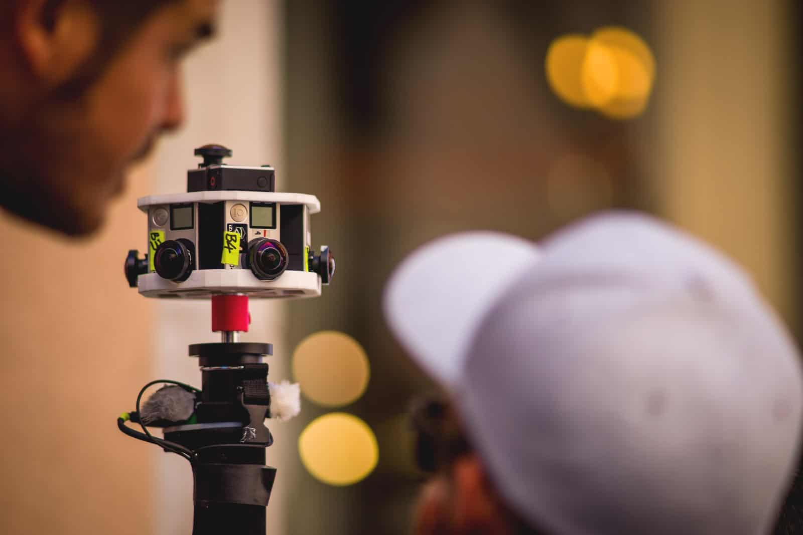 GoPro 360 video rig
