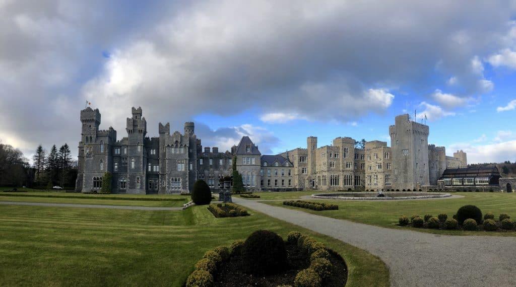 Castle, Ashford, Gardens, VR Tourism