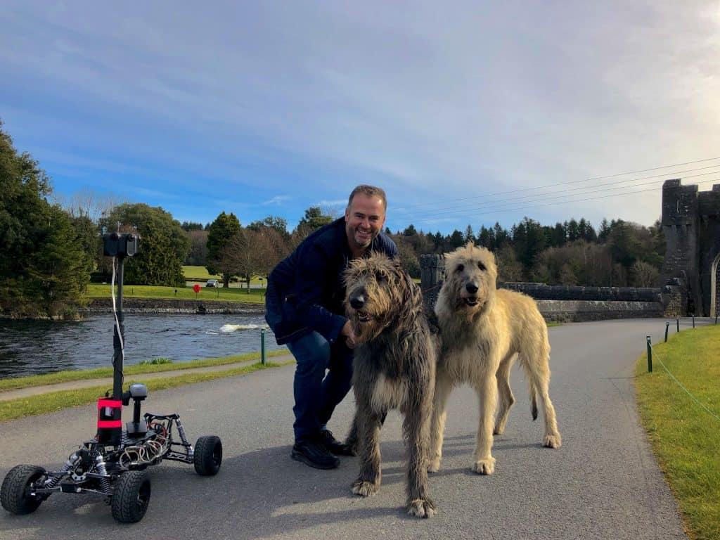 Irish Wolfhounds, RC Car, Kandao, Obsidian, VR Tourism