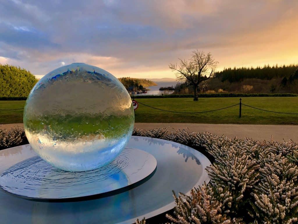 Fountain, Ashford Castle, Lodge, VR Tourism