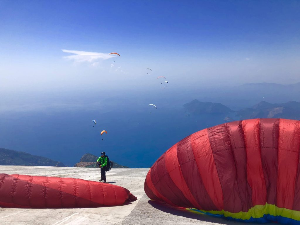 Turkey, Paragliders, Takeoff, VR Experience