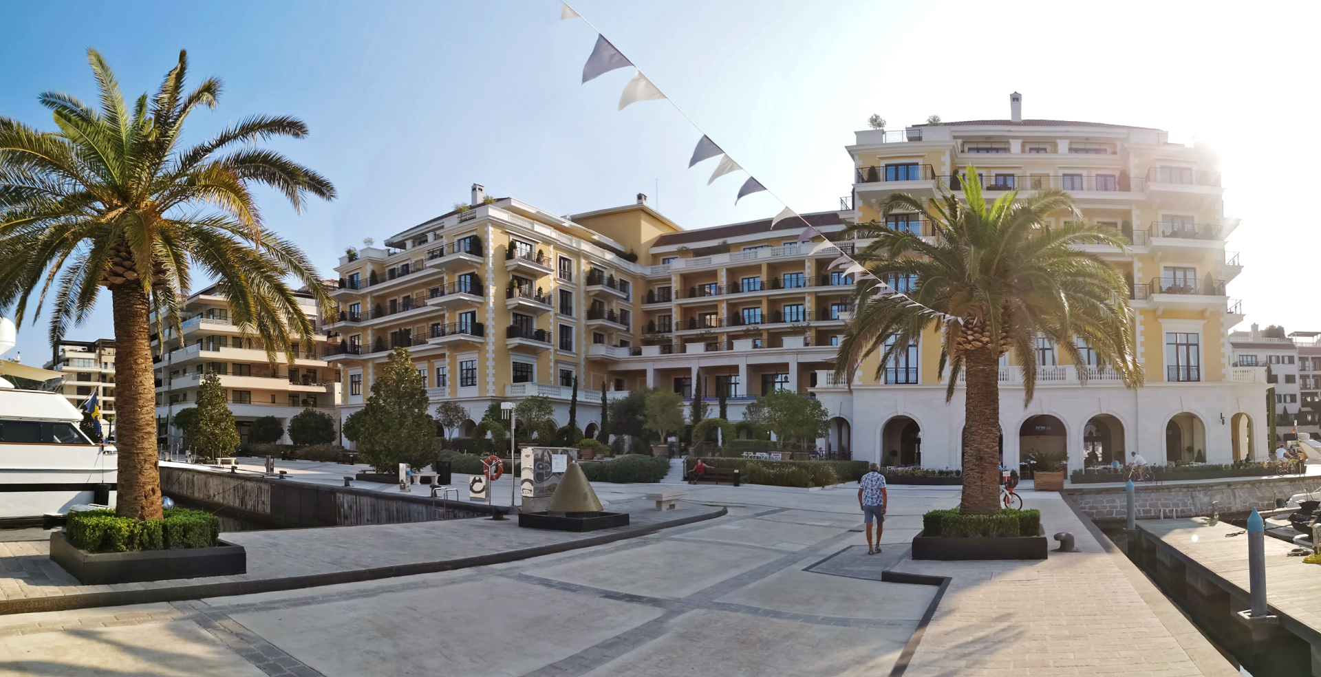 Creating a Hotel 360 VR Film for Regent Porto Montenegro