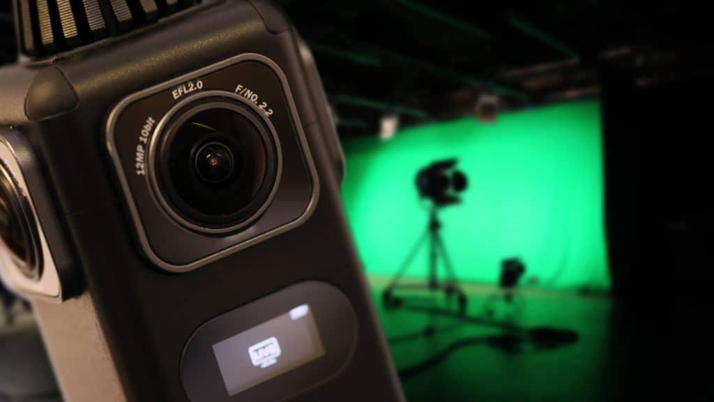 360 Camera on a COVID-19 Ready Film Set