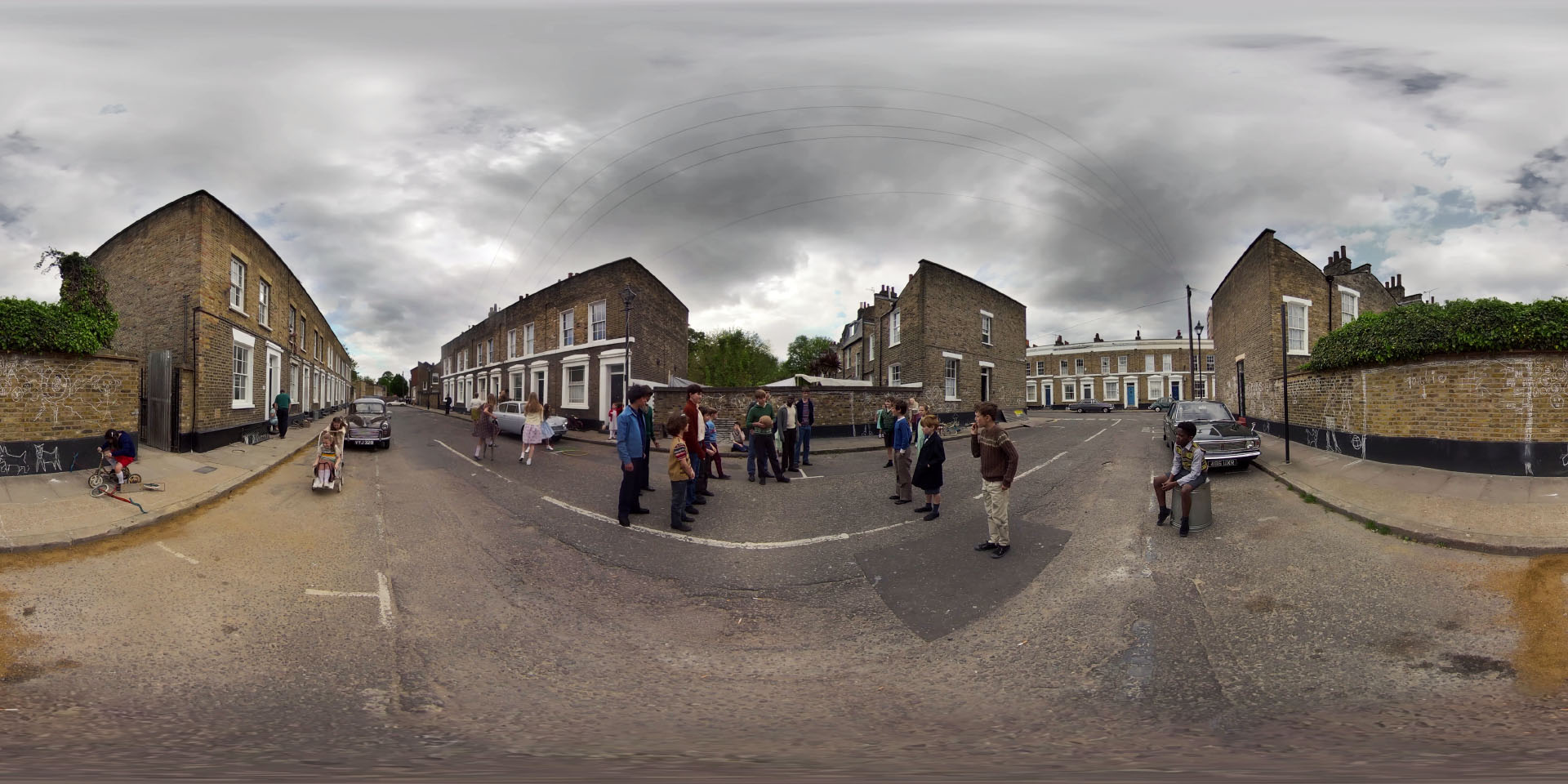 Wayback 360 Street Scene